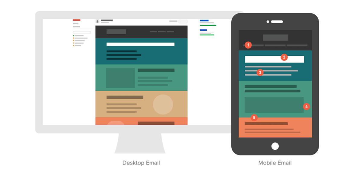 diseño de emails responsive
