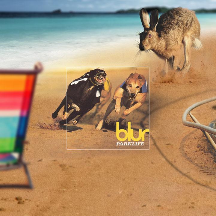 Diseño de covers de albumes famosos - Blur
