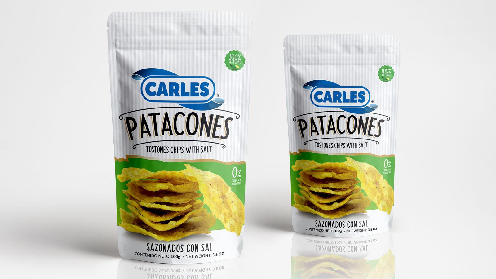Carles Snacks - Patacones